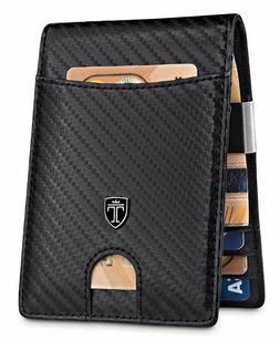 TRAVANDO Money Clip Wallet Mens Wallets slim Front Pocket RF