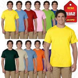 Hanes Mens T-Shirt ComfortBlend 50/50 EcoSmart Crewneck Tee