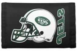 New York Jets Official NFL Nylon Trifold Wallet by Rico Indu