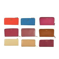 NWT Auth Coach Leather Large Continental Zip Wallet ON SALE!
