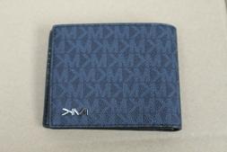 NWT Michael Kors Cooper Mens Billfold Wallet PVC Leather Bal