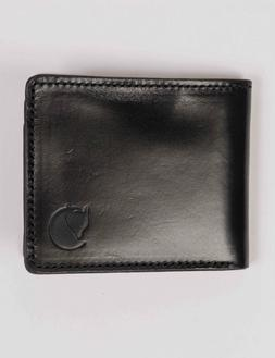 Fjallraven Ovik Wallet - Black Leather