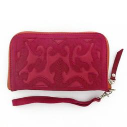 Leaders in Leather Pink Wallet On Sale