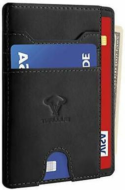 """Pocket Wallet Credit Card Holder For Men/Women 7Cards 3.15""""x"""