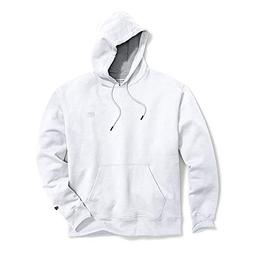 Champion Men's Powerblend Sweats Pullover Hoodie White XL