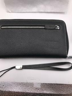 Lavemi RFID Blocking Leather Zip Around Wallet/Clutch Vintag