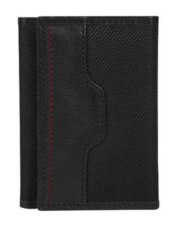Travelon Safe ID Accent Trifold Wallet Black - Travelon Mens