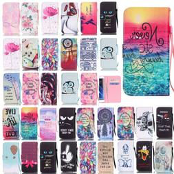For Samsung Galaxy S7 edge S7 Flip Hot Pattern Leather Card