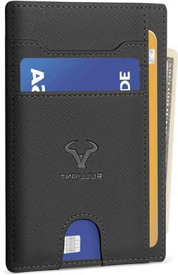 Slim Wallet,Bulliant Skinny Minimal Thin Front Pocket Wallet