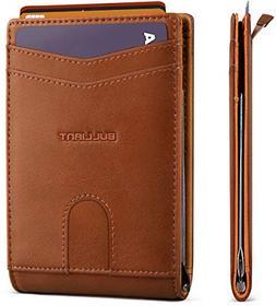 Slim Wallet Front Pocket Bulliant Money Clip Minimal Wallet