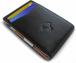 Slim Wallet Money Clip,Bulliant Mens Bifold Pocket Wallet Fo