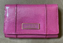 Cole Haan Soft Business Card Case ~ Pink