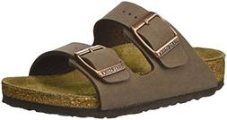 Girl's Birkenstock 'Arizona' Suede Sandal, Size 1-1.5US / 32
