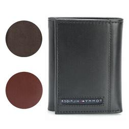Tommy Hilfiger Men's 31TL11X033 Leather Credit Card ID Trifo