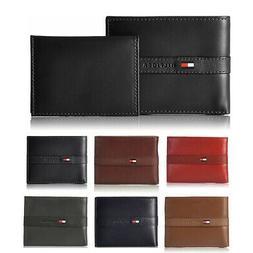 Tommy Hilfiger Men's 31TL22X062 Premium Leather Flip ID Pass