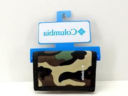 Columbia Tri Fold Sport Wallet Men's Camo New!