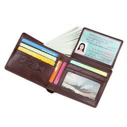 Wallet for Men Genuine Leather RFID Blocking Bifold Stylish