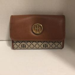 Tommy Hilfiger Wallet For Women Brown New