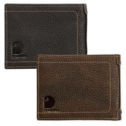 Carhartt Wallet Pebble Zip Bifold Wallet with Coin Pocket Re
