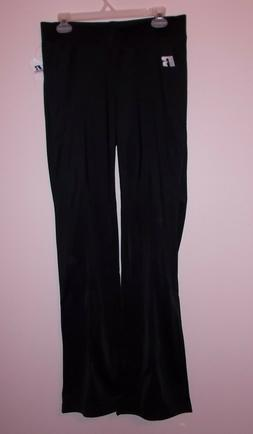 Russell Athletic Women's Size L Tall Dri Power Black Pull On