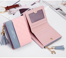 women short wallets small bifold leather pocket