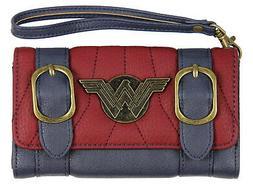 DC Comics Wonder Woman Front Flap Satchel Clutch Wallet with
